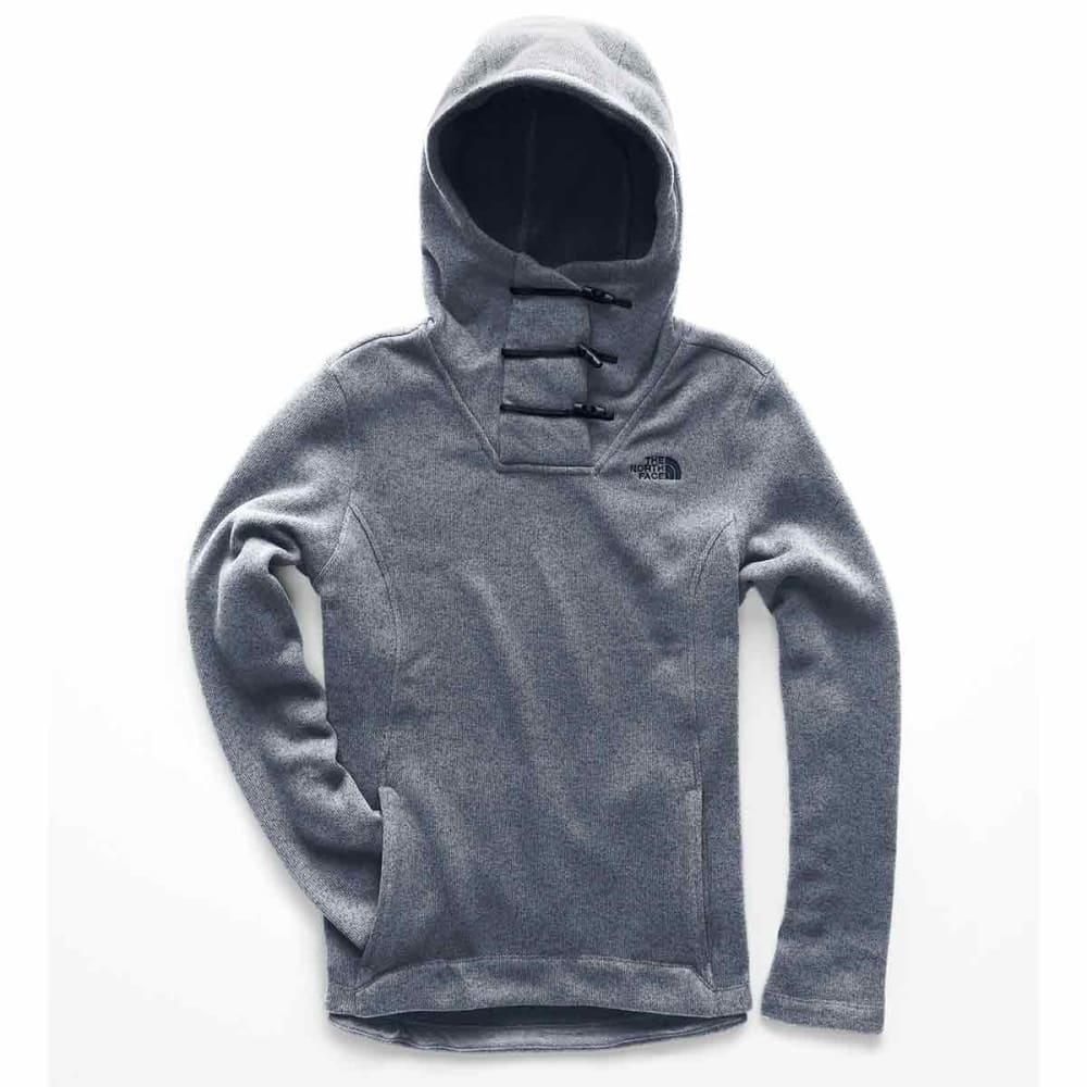 THE NORTH FACE Women's Crescent Hooded Pullover - 8AF-BLUE WING TEAL