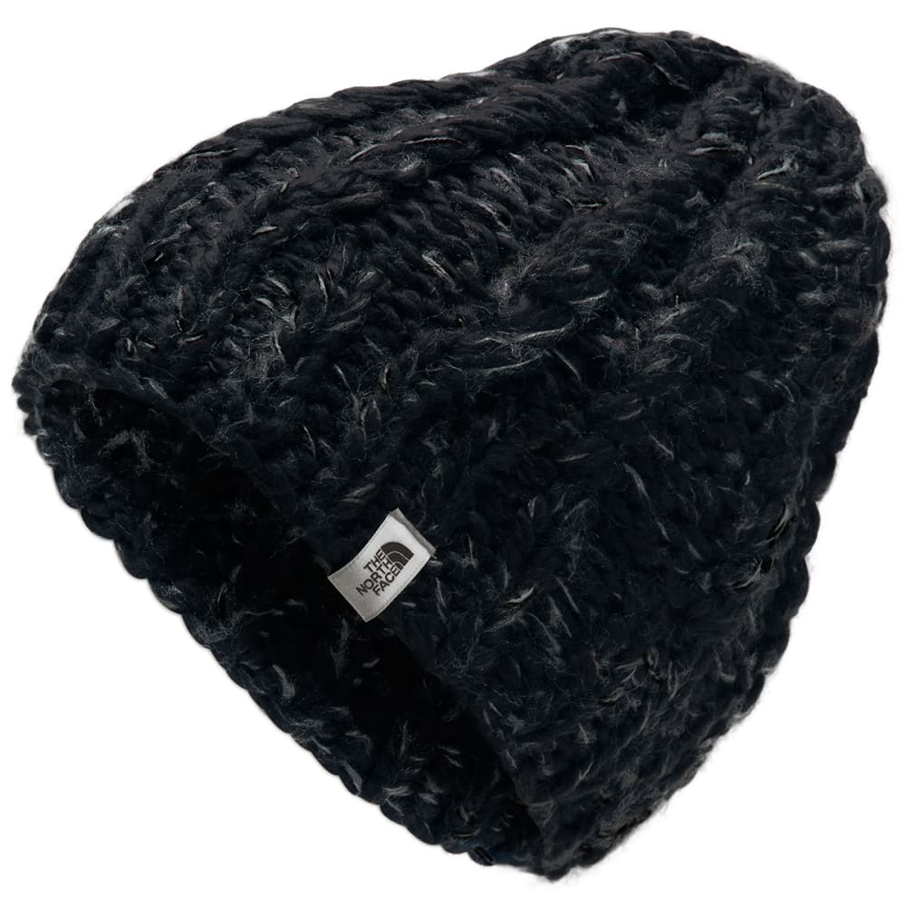 THE NORTH FACE Women's Chunky Knit Beanie - HPF TNF BLACK ASPHAL
