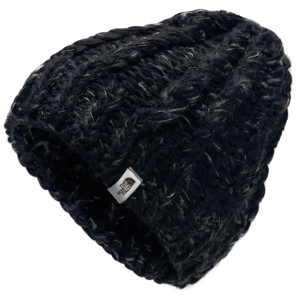 THE NORTH FACE Women's Chunky Knit Beanie - HPF TNF BLACK ASPHAL