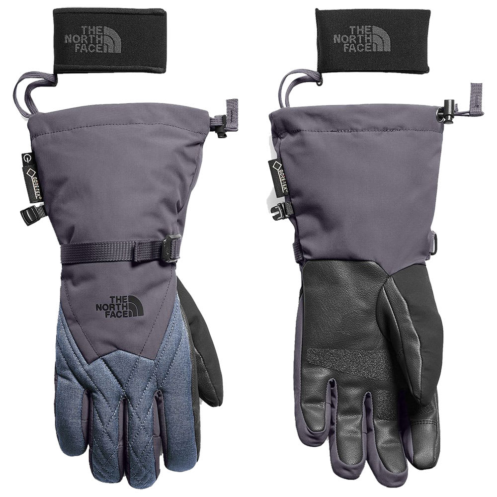THE NORTH FACE Women's Montana Gore-Tex Gloves - 8NF PERIGREY/GRYHTR