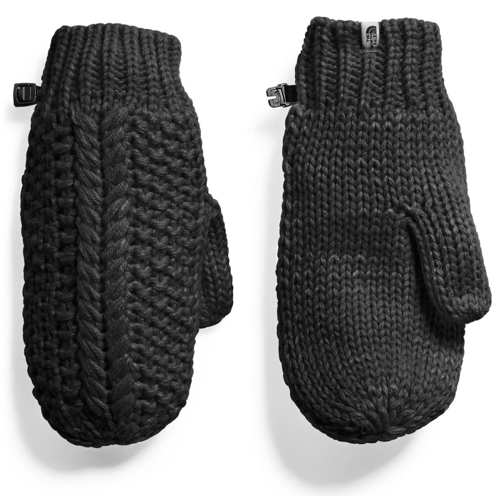 THE NORTH FACE Women's Cable Minna Mitts - JK3-TNF BLACK