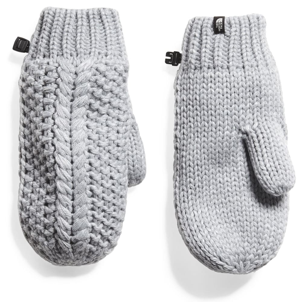 THE NORTH FACE Women's Cable Minna Mitts - E2L-LIGHT GREY HTHR