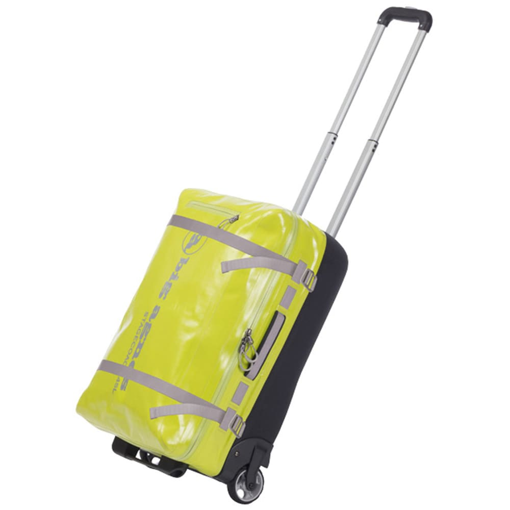 BIG AGNES Stagecoach Rolling Duffel Bag, Small - LIME