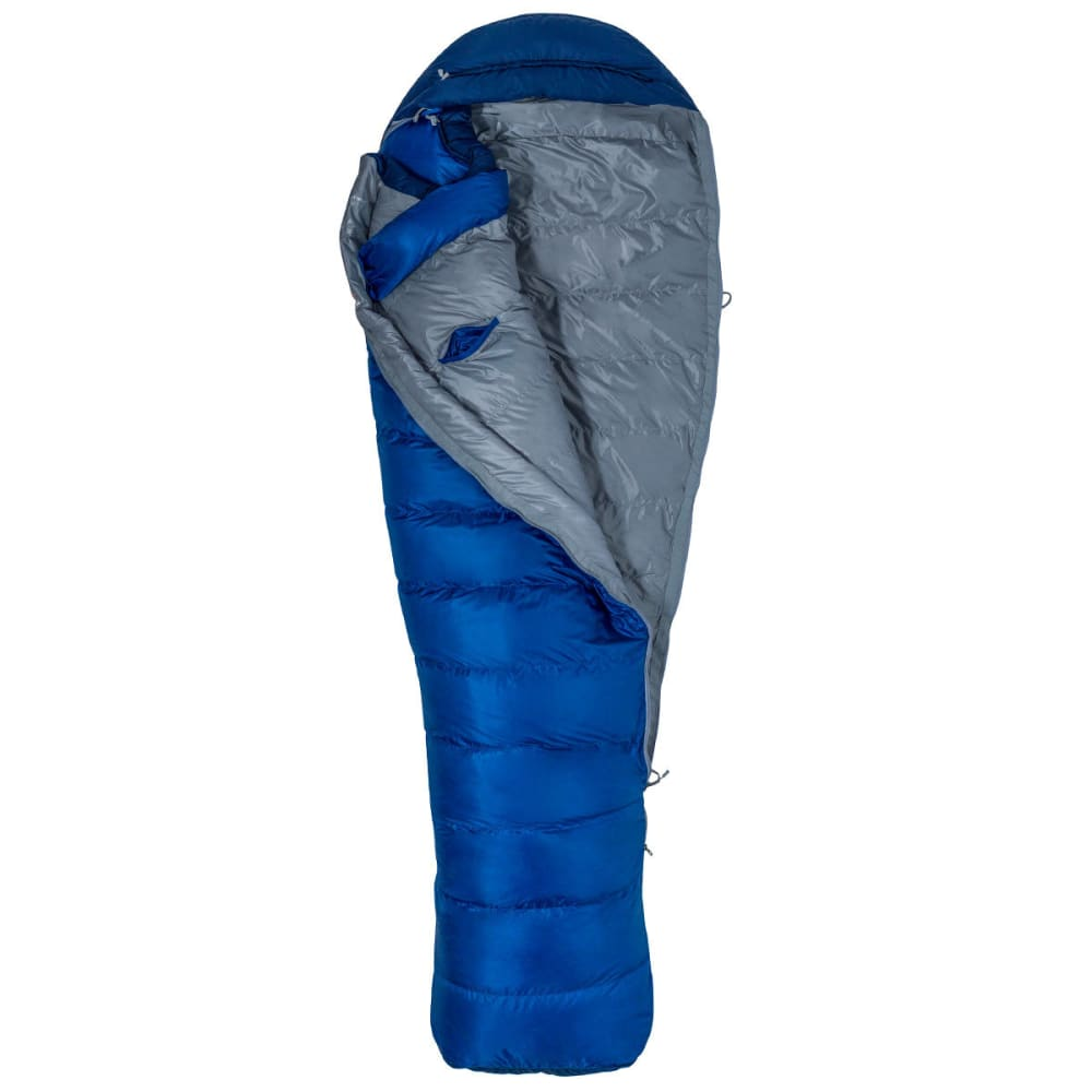 MARMOT Sawtooth 15 Sleeping Bag, Regular  - SURF/ARCTIC NAVY