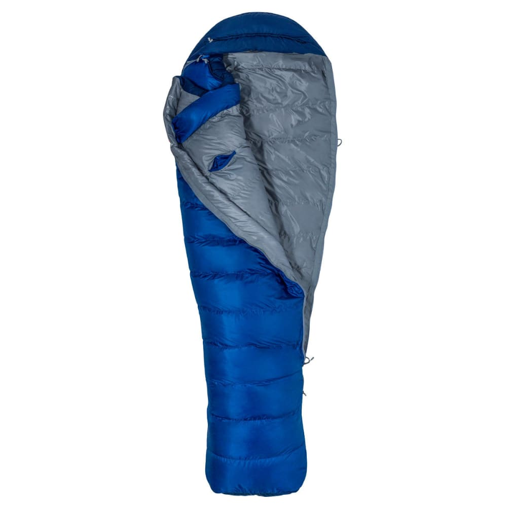 MARMOT Sawtooth Sleeping Bag - Long - SURF/ARCTIC NAVY