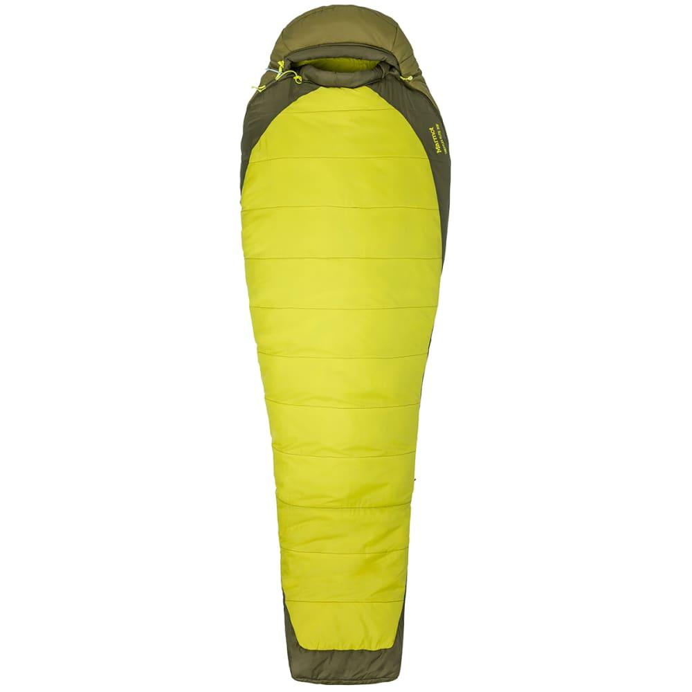 MARMOT Trestles Elite 30 Sleeping Bag, Regular - CITRONELLE/FIR GREEN