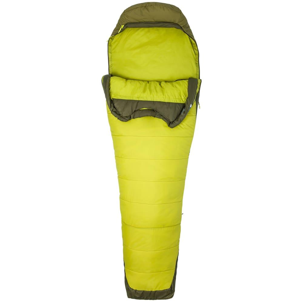 MARMOT Trestles Elite 30 Sleeping Bag, Long - CITRONELLE/FIR GREEN