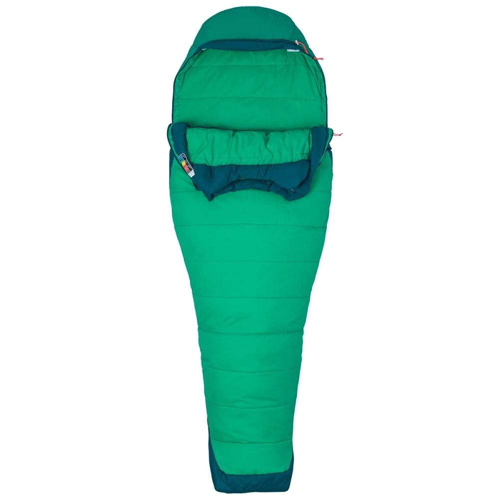 MARMOT Women's Trestles Elite 30 Sleeping Bag, Regular - TURF GRN/GARDEN GRN