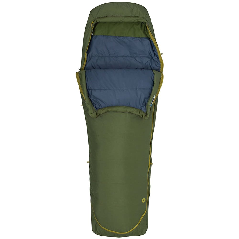 MARMOT Kona 30 Sleeping Bag, Regular - TREE GREEN HEATHER
