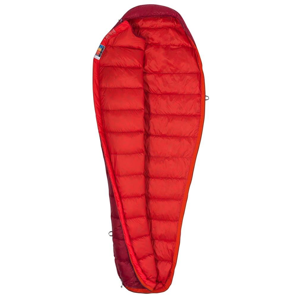 MARMOT Micron 40 Sleeping Bag, Regular - SIENNA RED/TOMATO