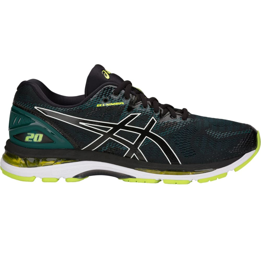 ASICS Men's GEL-Nimbus 20 Running Shoes - BLACK - 004