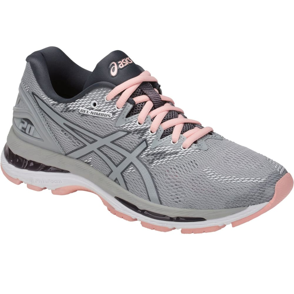 ASICS Women's GEL-Nimbus 20 Running Shoes - GREY - 9696