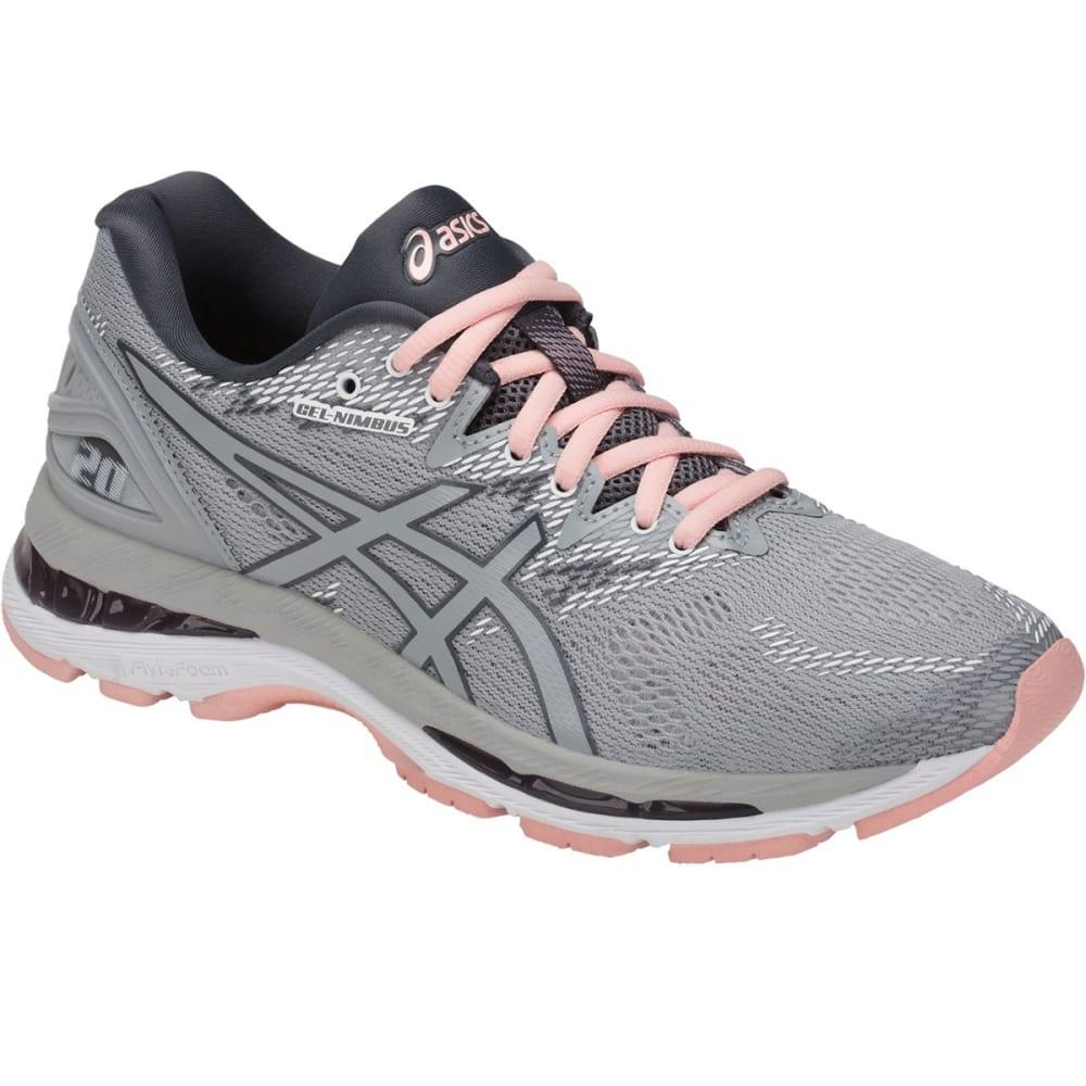 ASICS Women's GEL-Nimbus 20 Running Shoes - GREY - 9696