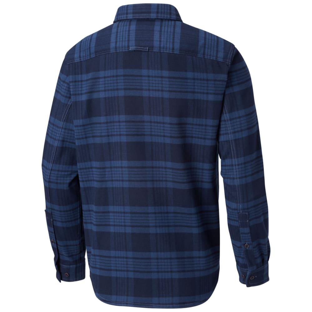 COLUMBIA Men's Deschutes River Heavyweight Flannel Shirt - 478-DK MT PLAID