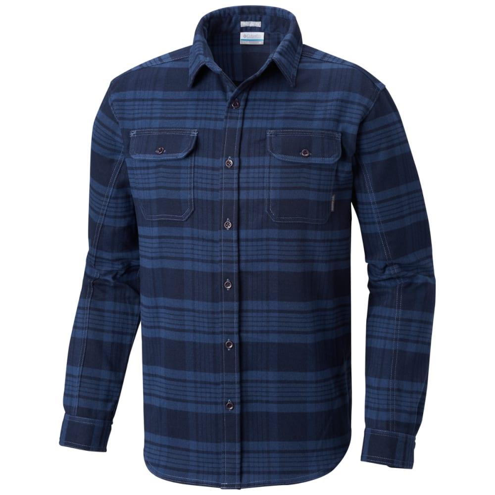 eda748a8d4f COLUMBIA Men's Deschutes River Heavyweight Flannel Shirt - 478-DK MT