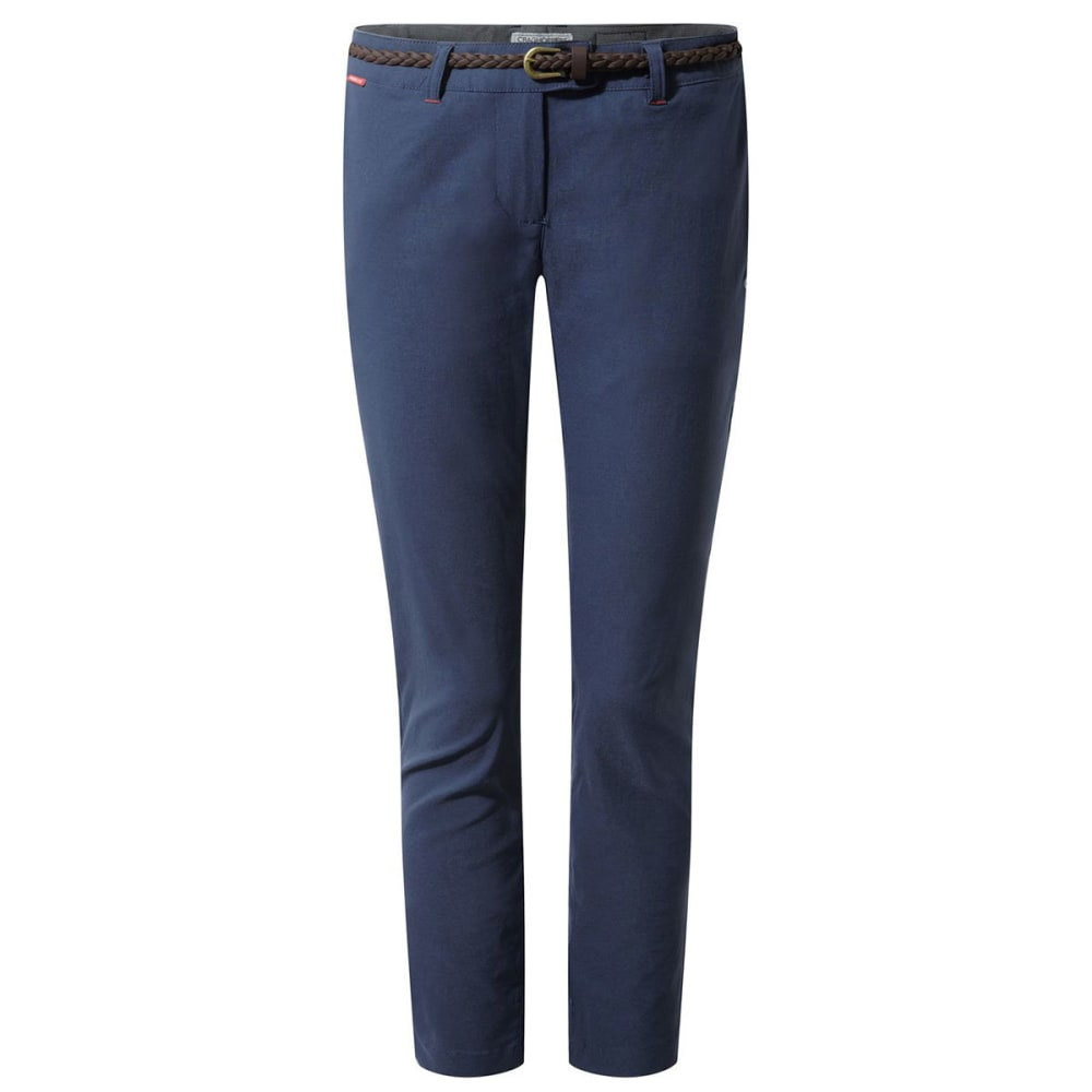 CRAGHOPPERS Women's NosiLife Fleurie Pants - SOFT NAVY-7ML