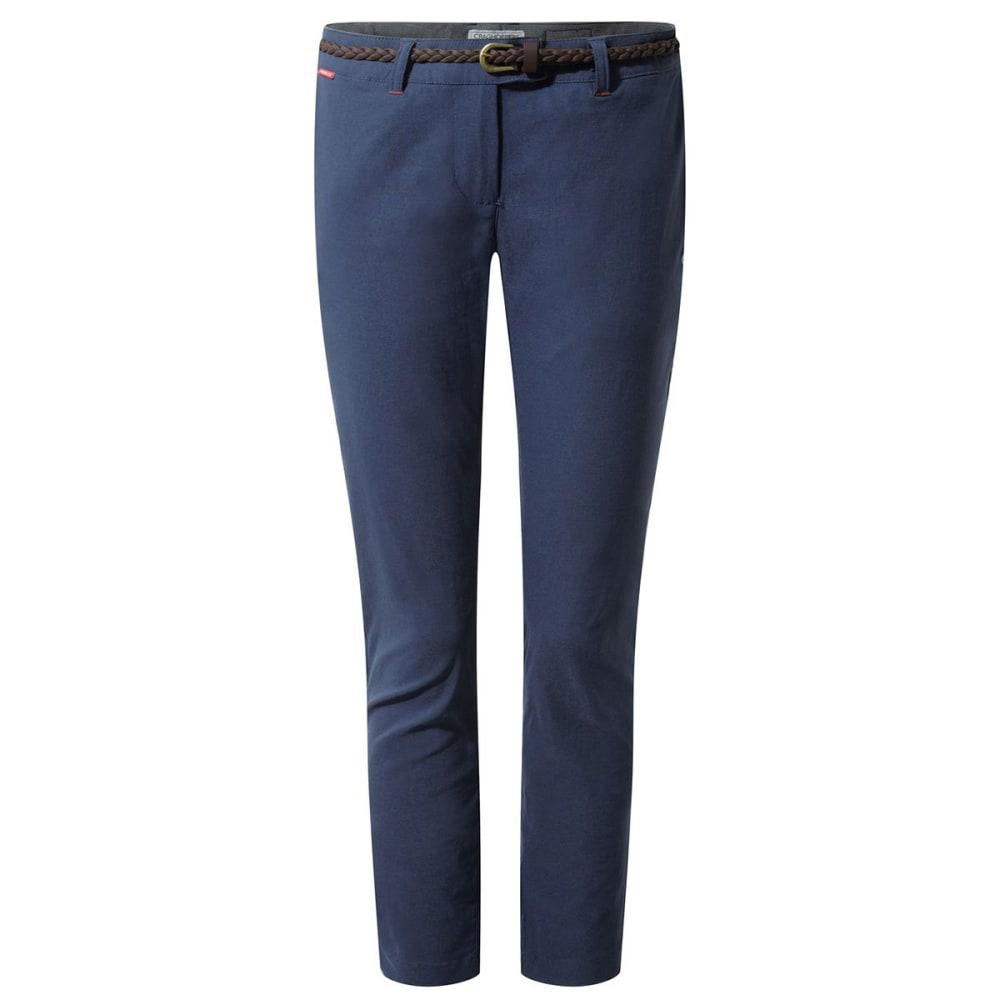Craghoppers Women's Nosilife Fleurie Pants - Size 8