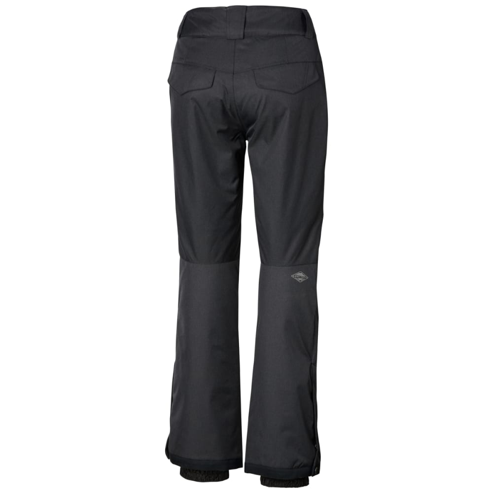 COLUMBIA Women's Wildside Pant - 030-CHARCOAL HTR BLK