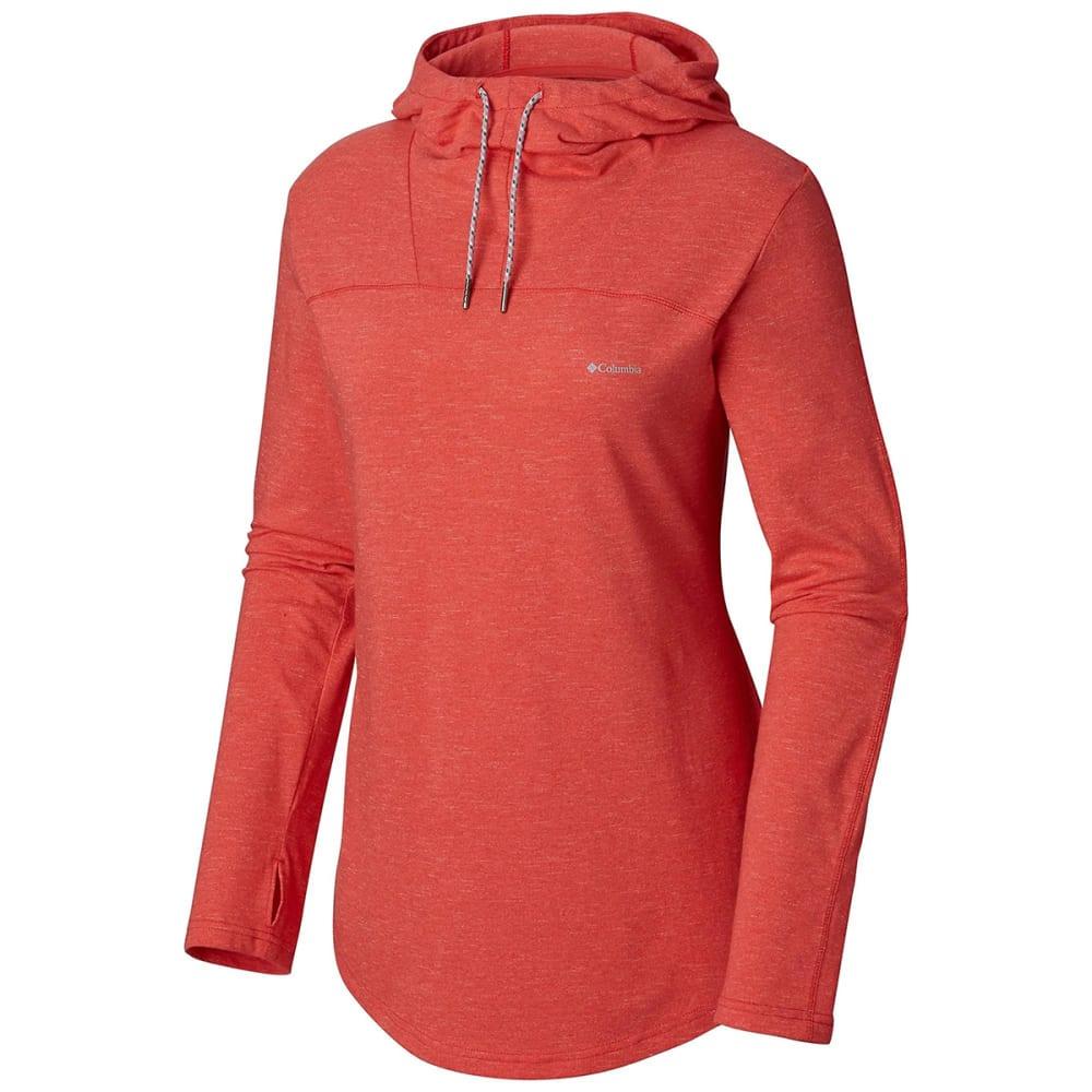 COLUMBIA Women's Pilsner Peak Hoodie - 633-RED CORAL