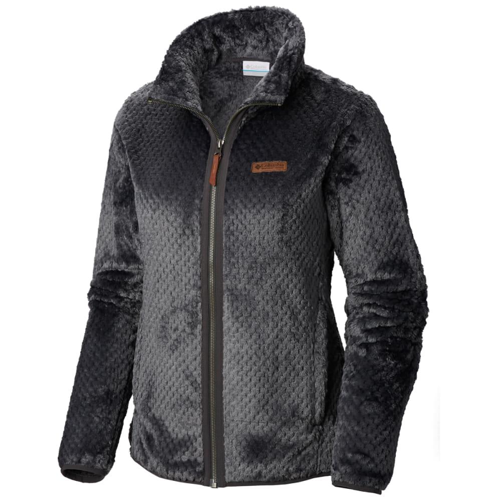 COLUMBIA Women's Fire Side II Sherpa Full Zip Fleece Jacket - 011-SHARK