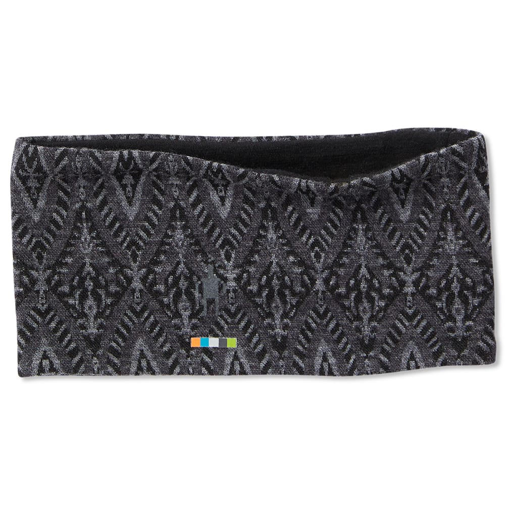 SMARTWOOL Women's 250 Reversible Pattern Headband - C14-BLK MEDALLION
