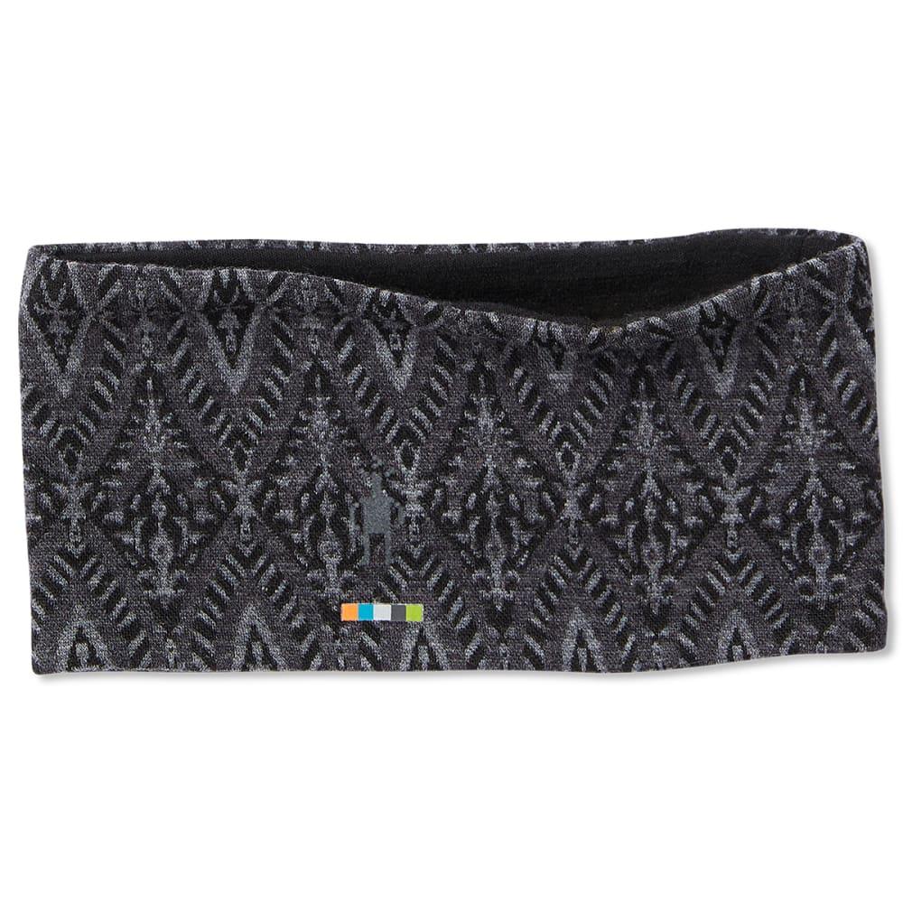 SMARTWOOL Women's 250 Reversible Pattern Headband - C14-BLK MEDALLION