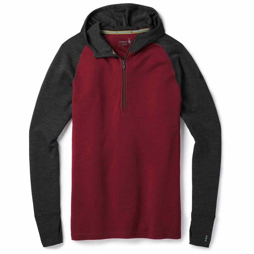 SMARTWOOL Men's Merino 250 Base Layer Hoodie - A14-TIBETAN RED