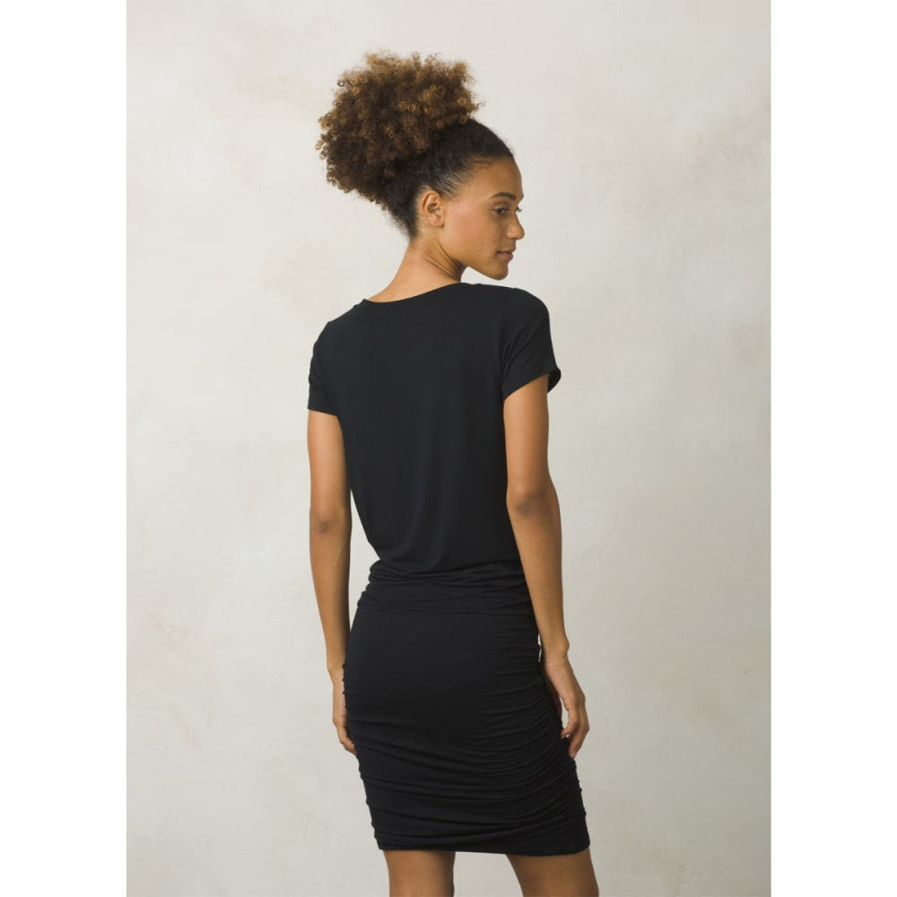 PRANA Women's Foundation Dress - BLACK