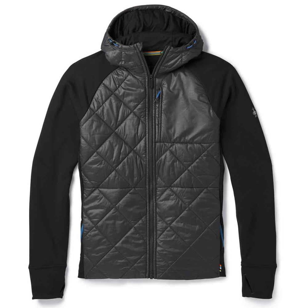 SMARTWOOL Men's Smartloft 150 Base Layer Hoody - 018-GRAPHITE