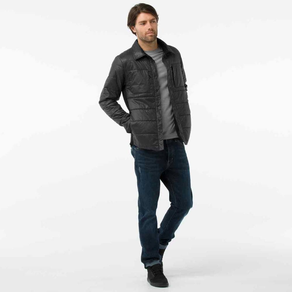 SMARTWOOL Men's Smartloft 60 Shirt Jacket - 018-GRAPHITE