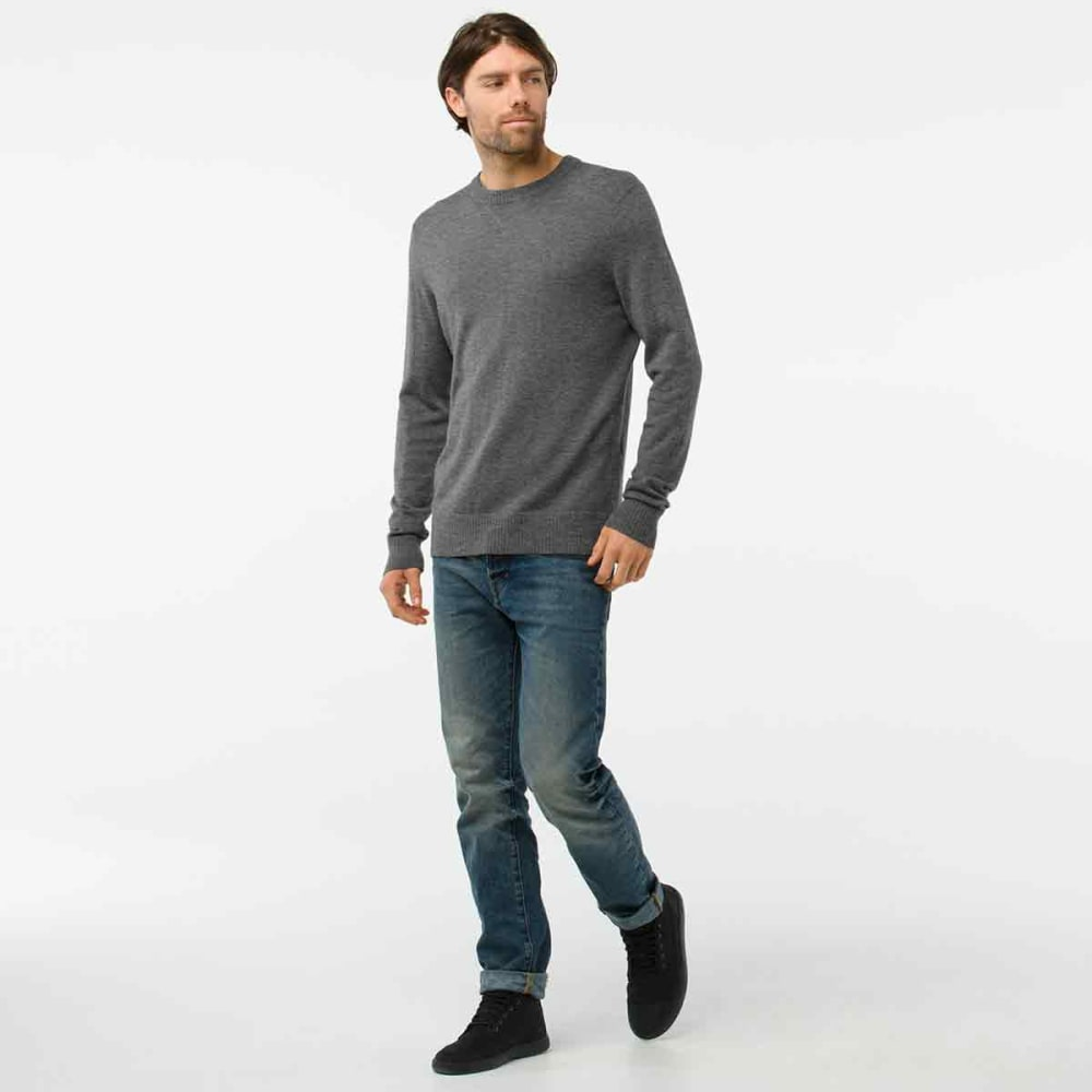 SMARTWOOL Men's Sparwood Crew Sweater - A43-MED GREY