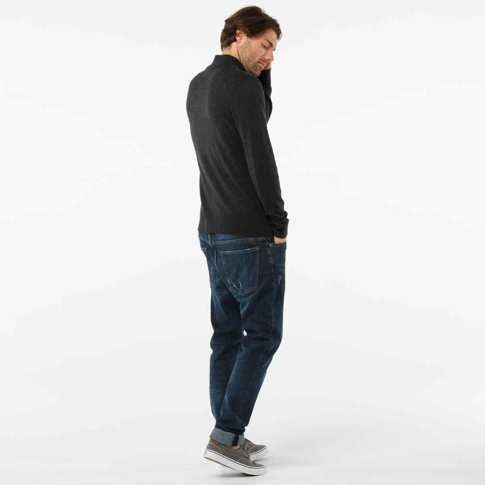 SMARTWOOL Men's Sparwood Half-Zip Sweater - 010-CHARCOAL HEATHER