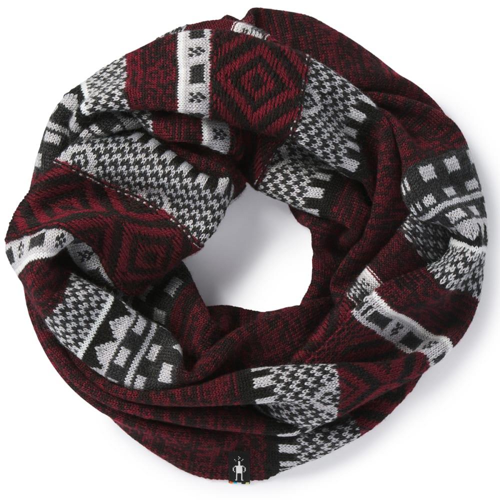 SMARTWOOL Women's Dazzling Wonderland Infinity Scarf - A25-TIBETAN RED