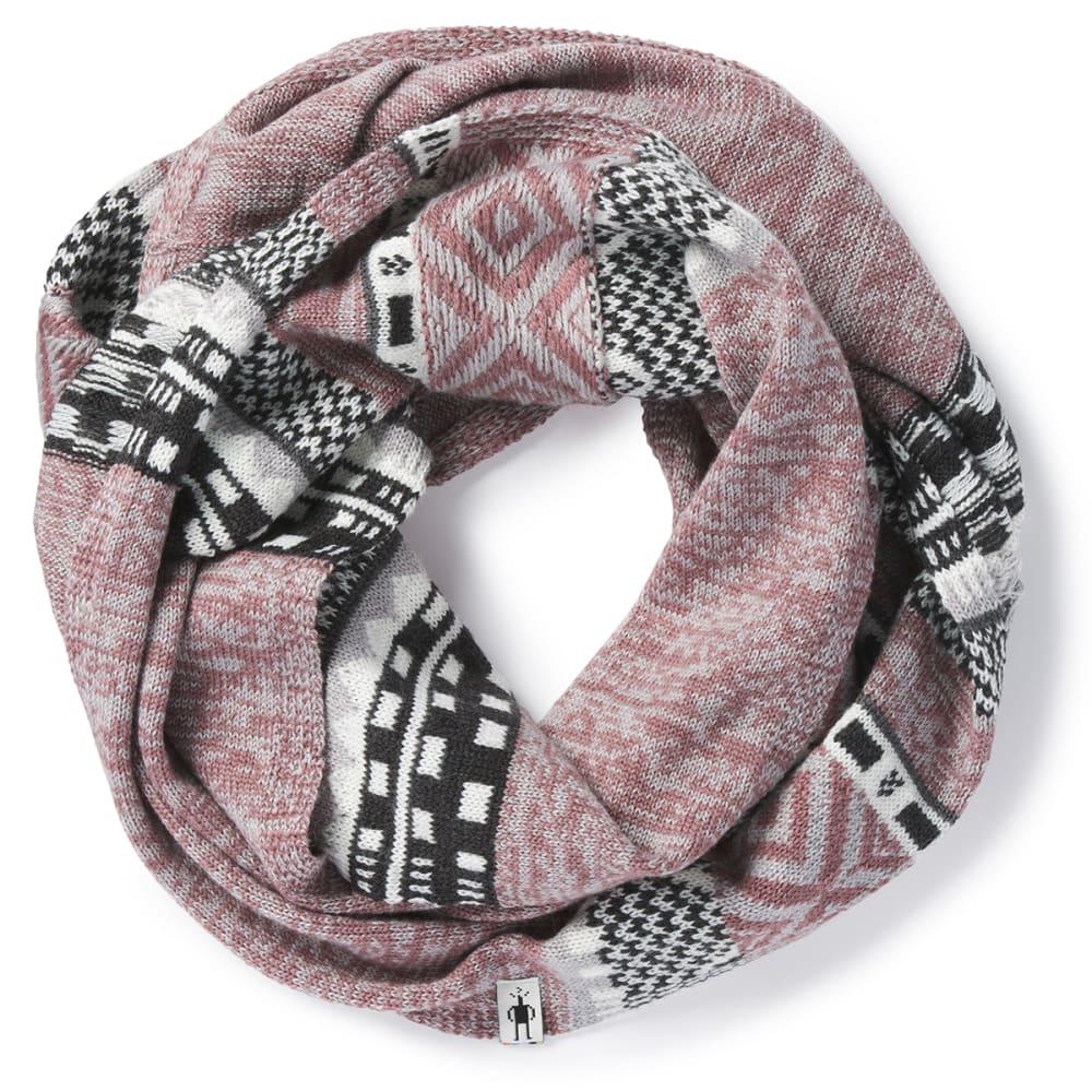 SMARTWOOL Women's Dazzling Wonderland Infinity Scarf - A12-NOSTALGIA ROSE
