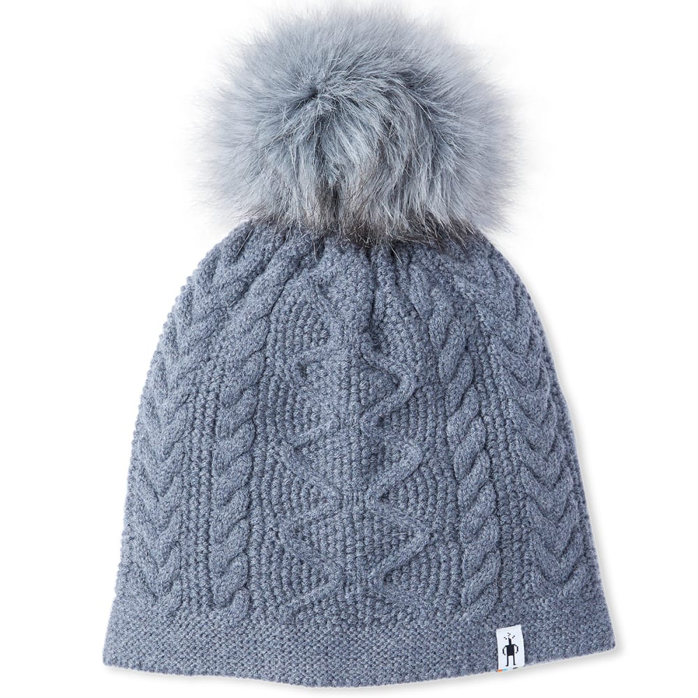 SMARTWOOL Women's Bunny Slope Beanie - O84-M GRY HEATHER
