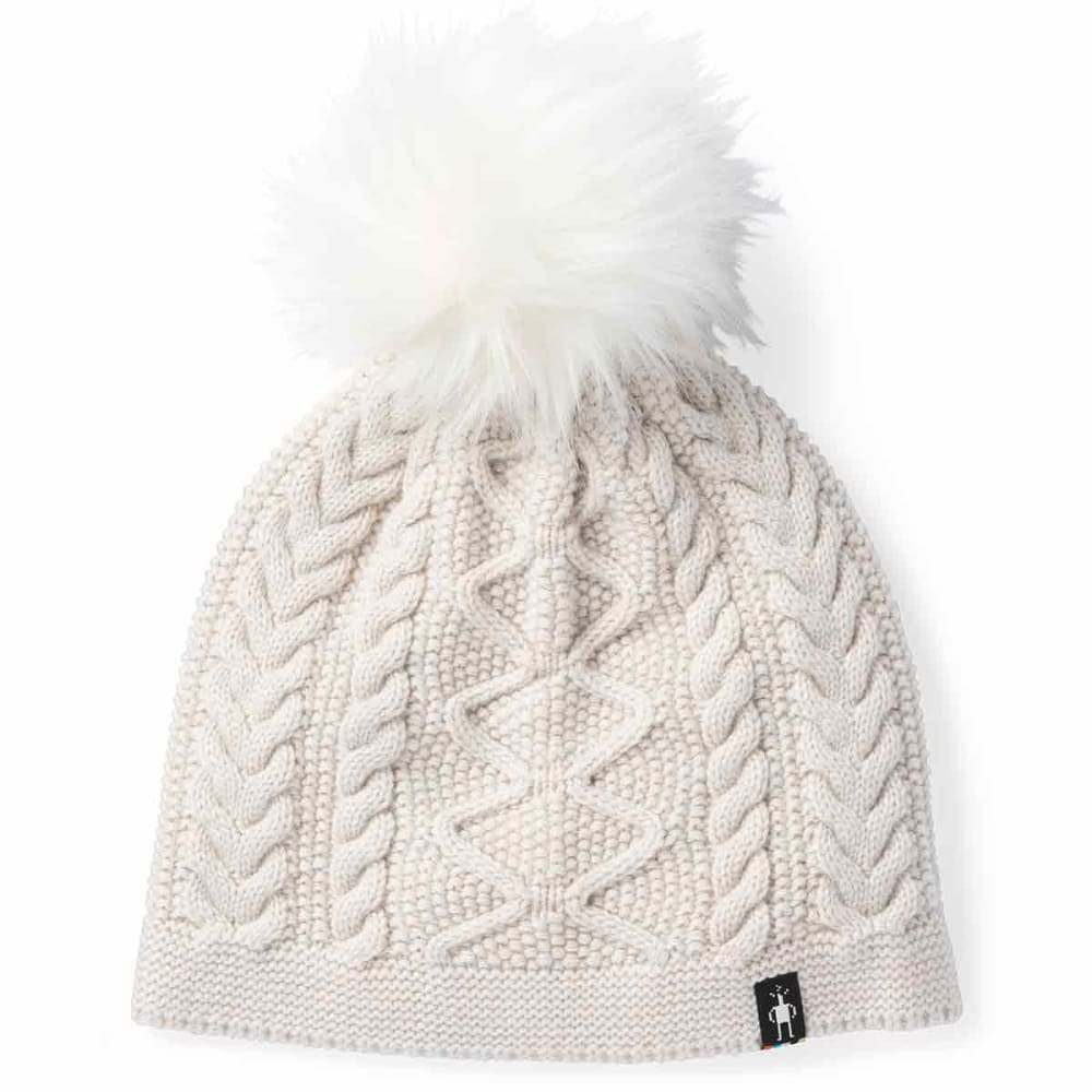 SMARTWOOL Women's Bunny Slope Beanie - A10-MOONBEAM HEATHER