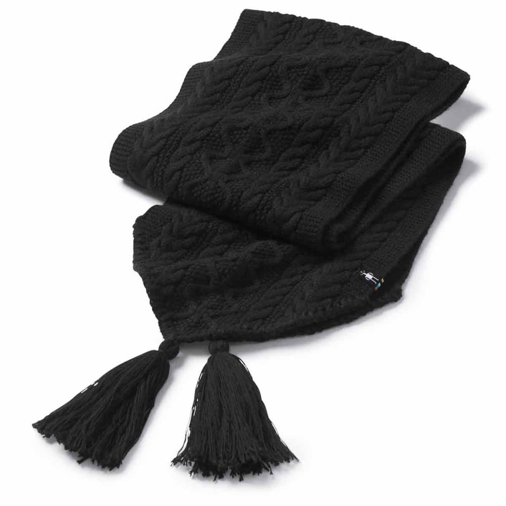 SMARTWOOL Women's Bunny Slope Scarf - 001-BLACK