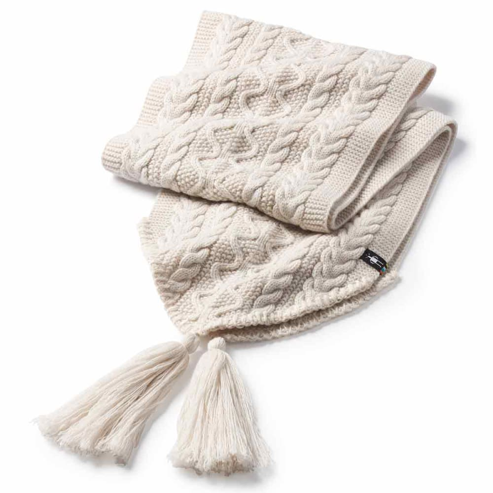 SMARTWOOL Women's Bunny Slope Scarf - A10-MOONBEAM HEATHER