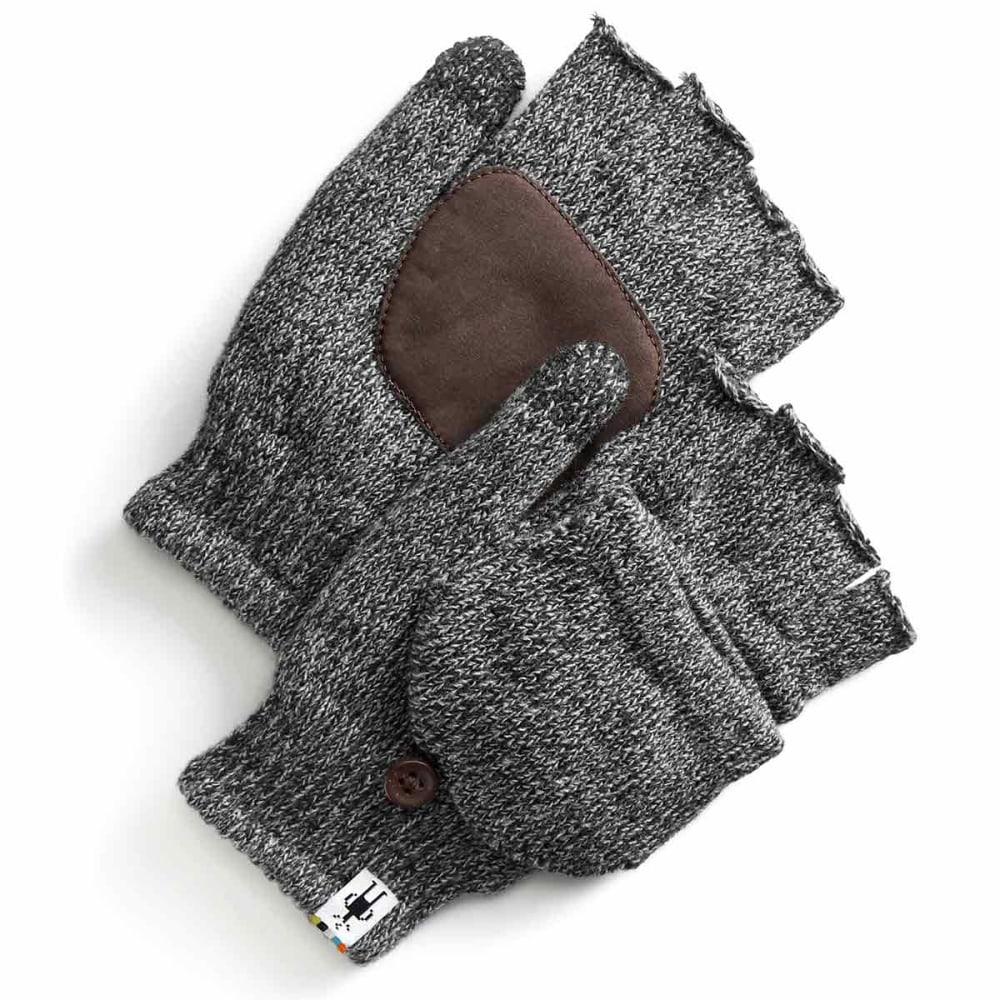 SMARTWOOL Men's Cozy Grip Flip Mitts - 001-BLACK
