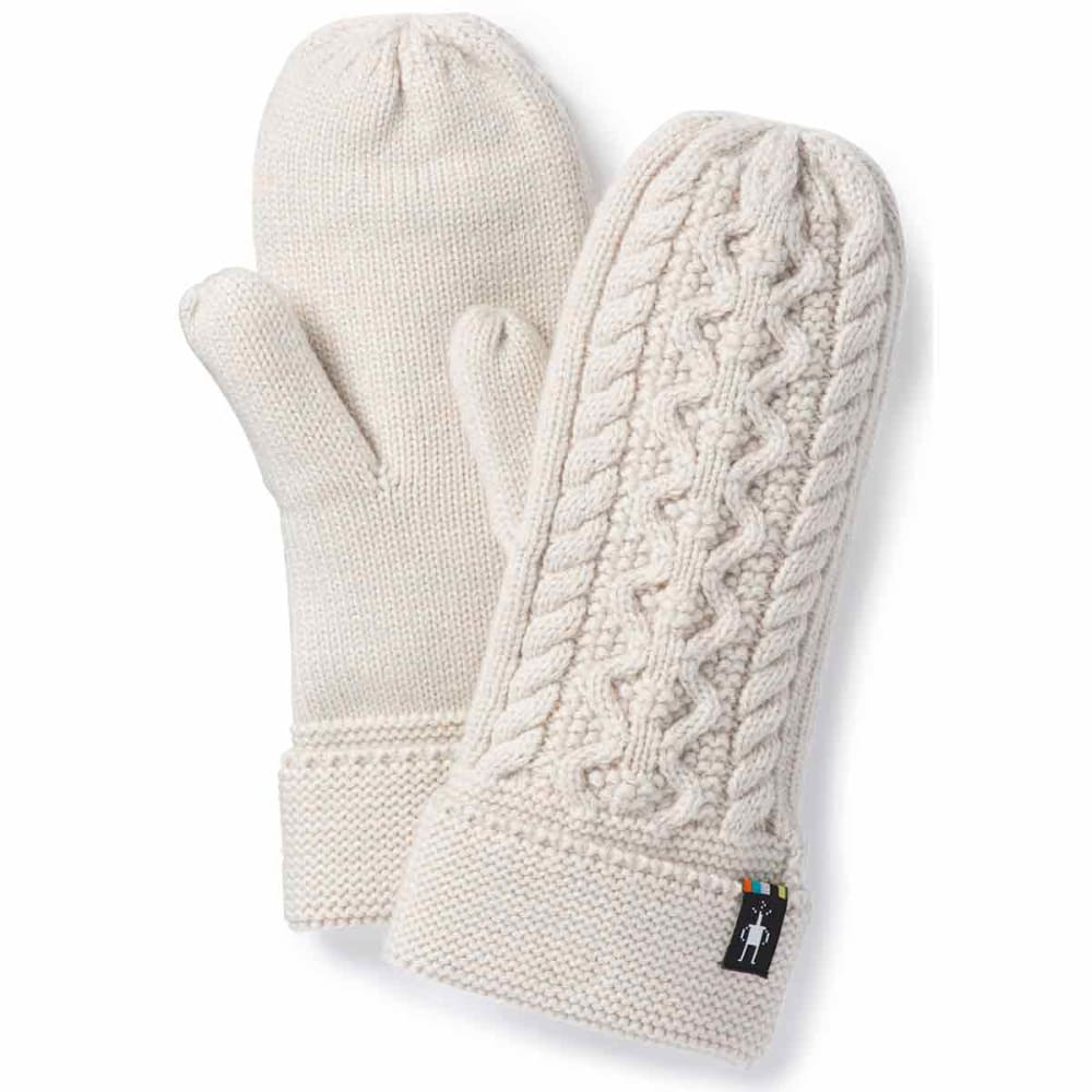 SMARTWOOL Women's Bunny Slope Mittens - A10-MOONBEAM HEATHER