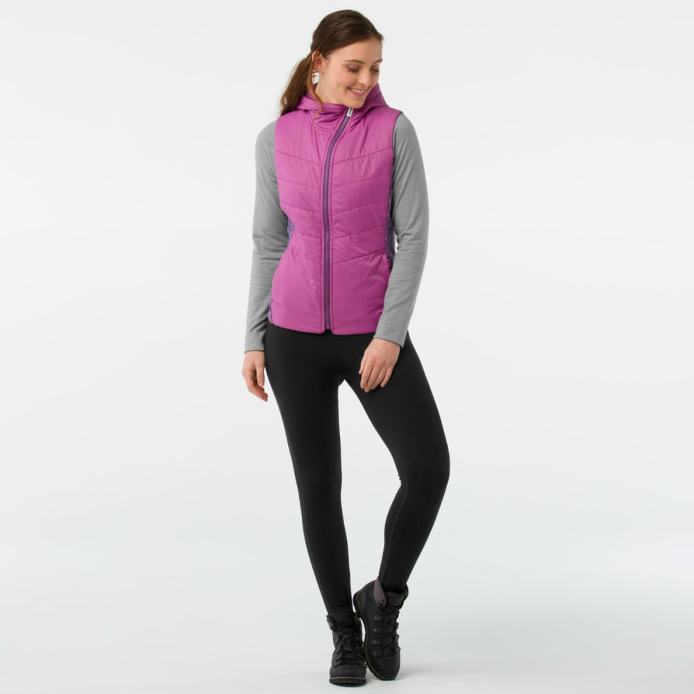 SMARTWOOL Women's Smartloft 60 Hoodie Vest - A22-MEADOW MAUVE
