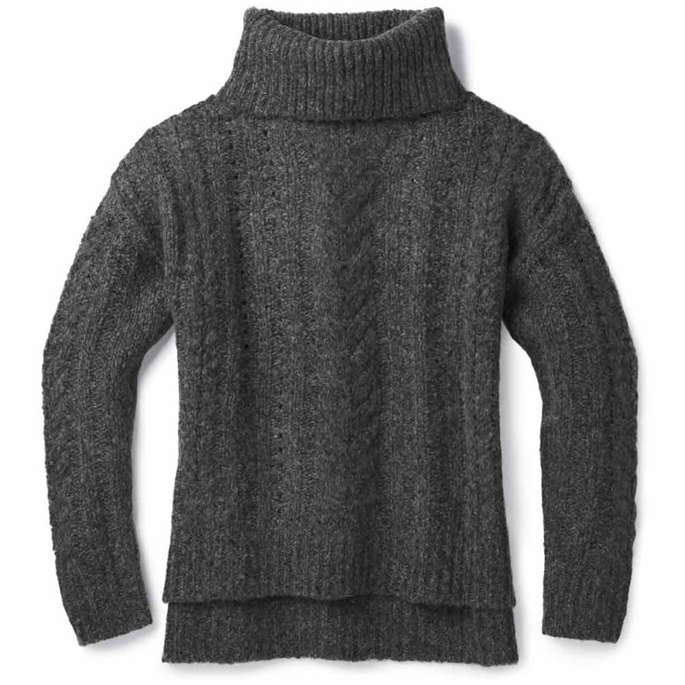 SMARTWOOL Women's Moon Ridge Boyfriend Sweater XS