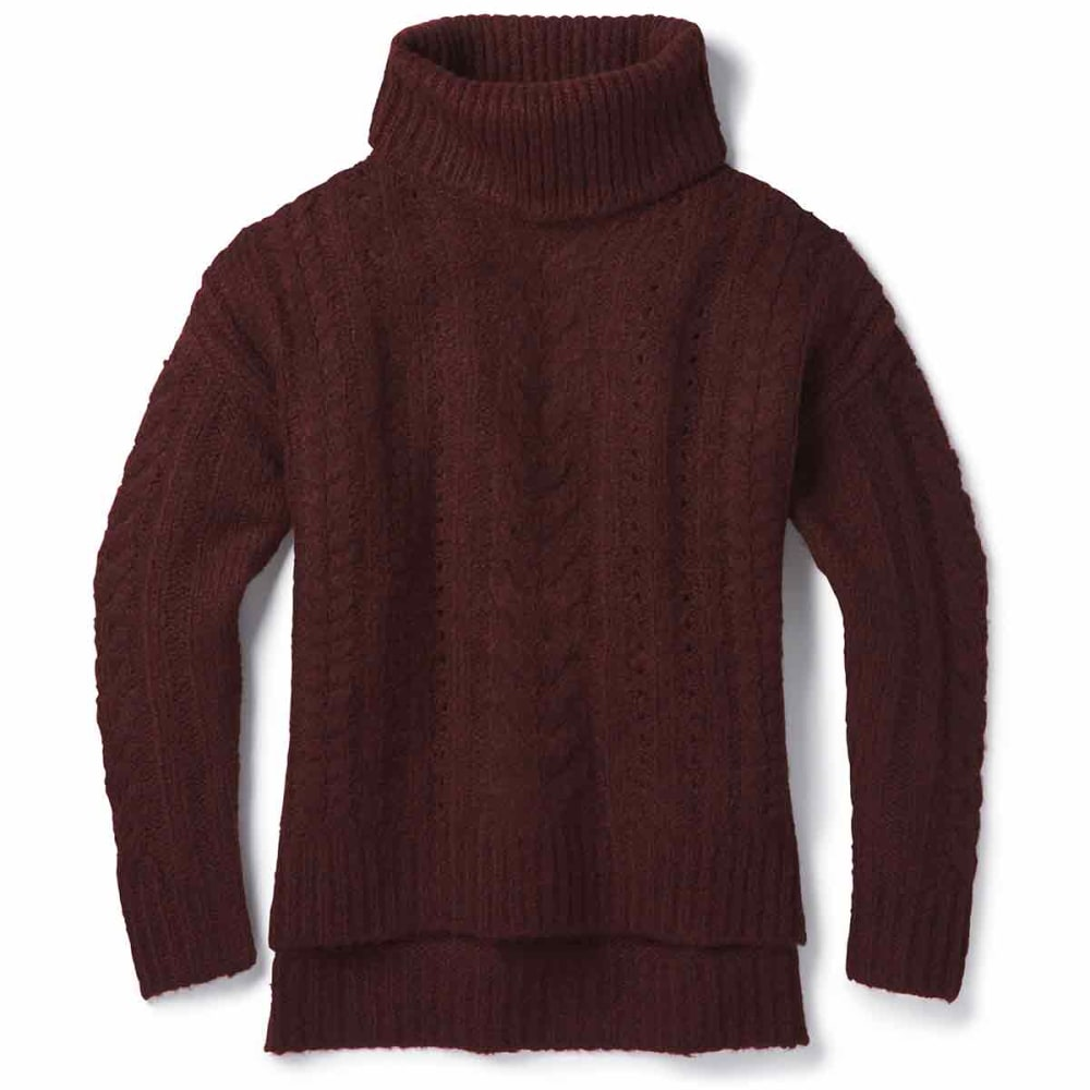 SMARTWOOL Women's Moon Ridge Boyfriend Sweater - A13-FIG