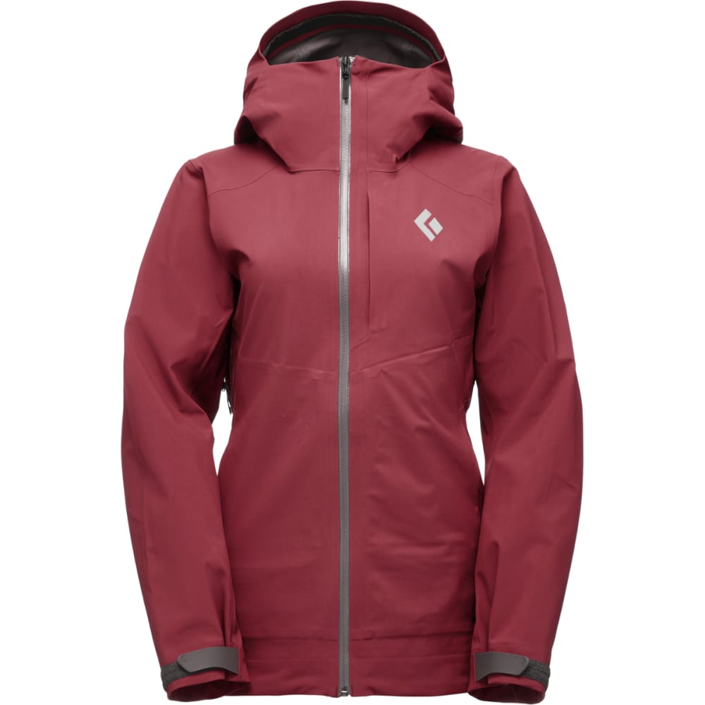 BLACK DIAMOND Women's Recon Stretch Ski Shell Jacket - WINE