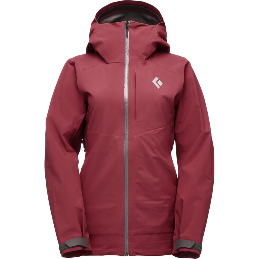 BLACK DIAMOND Women's Recon Stretch Ski Shell Jacket - WINE