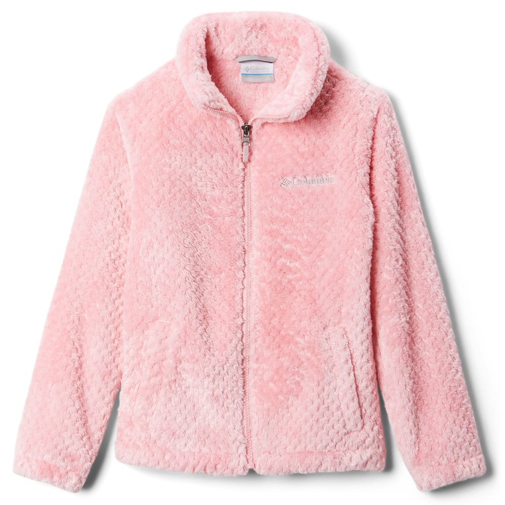 COLUMBIA Big Girls' Fluffy Fleece Full-Zip Jacket S