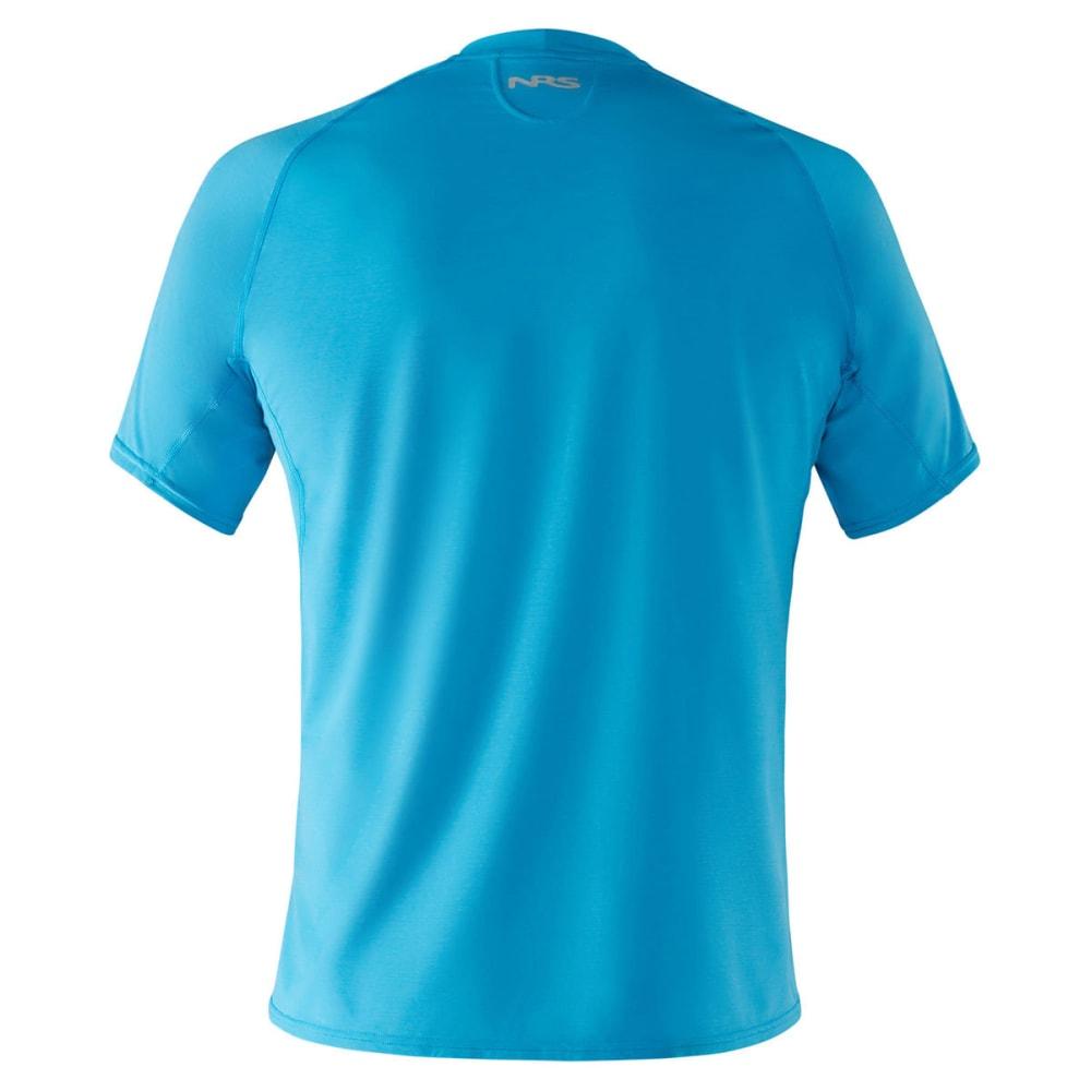 NRS Men's H2Core Silkweight Short-Sleeve Shirt - MARINE BLUE
