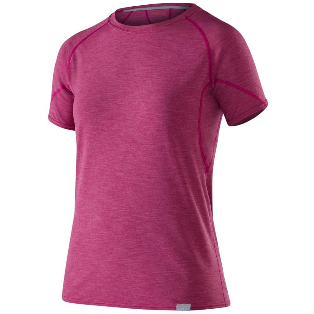 NRS Women's H2Core Silkweight Short-Sleeve Shirt - ORCHID