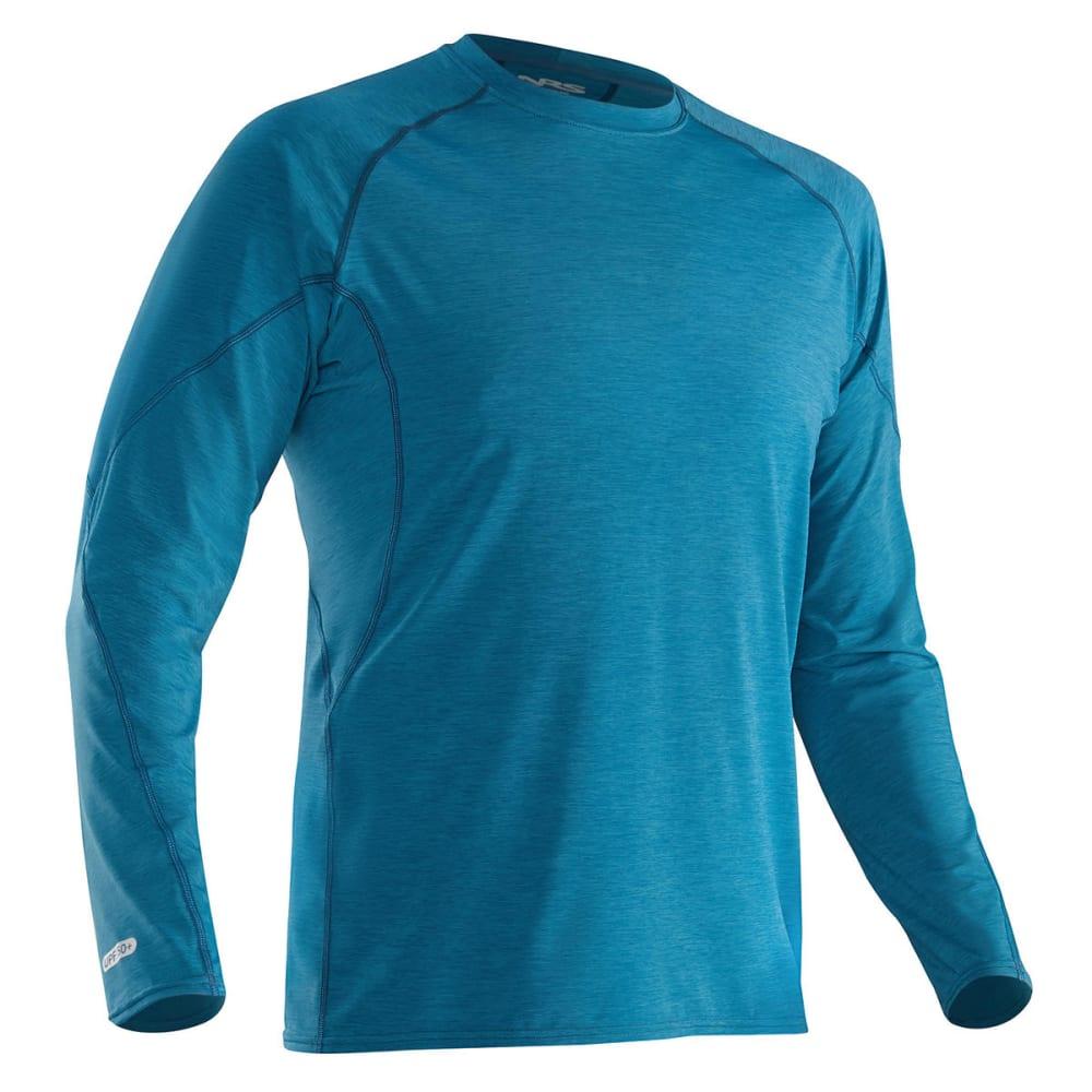 NRS Men's H2Core Silkweight Long-Sleeve Shirt - MOROCCAN BLUE