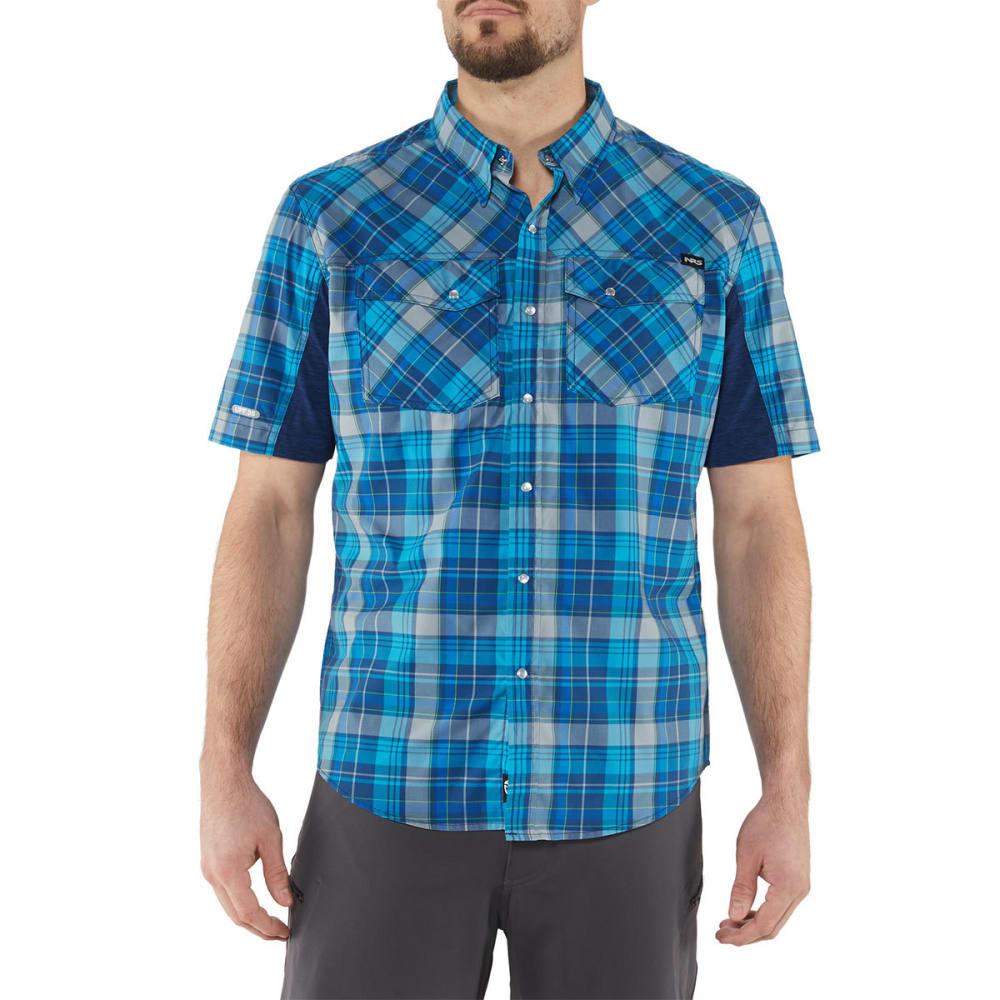 NRS Men's Guide Short-Sleeve Shirt - BLUE